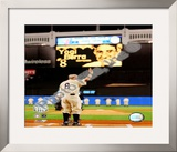 Yogi Berra Final Game At Yankee Stadium 2008 Framed Photographic Print