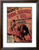 Classic Mexican Movie: Sedasangre Framed Giclee Print