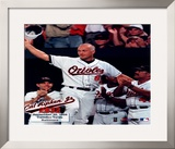 Cal Ripken, Jr. - 2632nd game (hat tip) - ©Photofile Framed Photographic Print