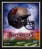 Tampa Bay Buccaneers Helmet Logo ©Photofile Framed Photographic Print