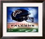 Atlanta Falcons Helmet Logo ©Photofile Framed Photographic Print