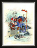 The Check Framed Giclee Print by Gary Patterson