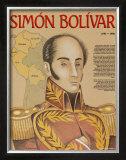 Hispanic Heritage - Simon Bolivar Prints