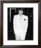 Mick Jagger in White Suit Print