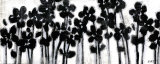 Black Flowers on White II Posters by Norman Wyatt Jr.