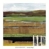 Grazing Range I Poster by Leslie Bernsen