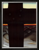 Black Cross New Mexico Posters by Georgia O'Keeffe
