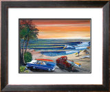 Sunset Surf Prints by Gary Birdsall