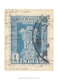 Vintage Stamp I Print