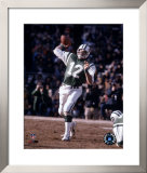 Joe Namath - Passing Action Framed Photographic Print