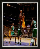 Kobe Bryant, Game 3 of the 2008 NBA Finals Framed Photographic Print
