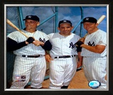 Roger Maris, Yogi Berra, and Mickey Mantle - ©Photofile Framed Photographic Print