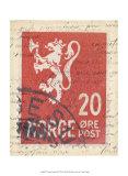 Vintage Stamp III Posters
