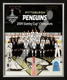 Pittsburgh Penguins 2008-2009 Framed Photographic Print