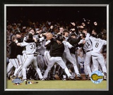 2005 World Series White Sox Victory Celebration Framed Photographic Print
