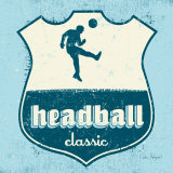 Headball Poster par Peter Horjus
