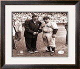 Babe Ruth/Yogi Berra Framed Photographic Print