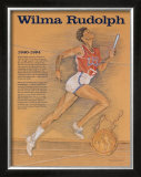 Great American Women - Wilma Rudolph Print