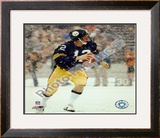 Terry Bradshaw  / In snow Framed Photographic Print
