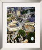 Yankee Stadium - 2008 New &amp; Old Stadium Framed Photographic Print
