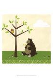 Woodland Friends IV Kunstdrucke von Erica J. Vess