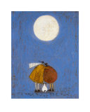 A Moon to Call Their Own Konst av Sam Toft