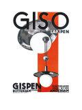 Giso Lampen Prints by W Gispen