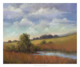 September Fields Giclee Print by Mary Jean Weber