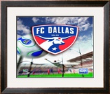 FC Dallas Framed Photographic Print