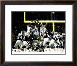 Adam Vinatieri - 2001 Divisional Playoffs vs Oakland Raiders Framed Photographic Print