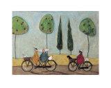 En god dag til at cykle Posters af Sam Toft
