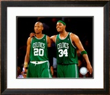 Paul Pierce & Ray Allen Game 4 of the 2008 NBA Finals Framed Photographic Print