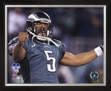 Donovan McNabb - 2004 NFC Championship Celebration Framed Photographic Print