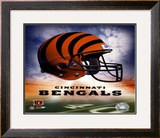 Bengals Helmet Logo ('04) ©Photofile Framed Photographic Print
