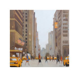 7th Avenue, New York Plakater af Jon Barker