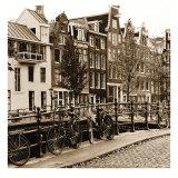 Autumn in Amsterdam I Poster von Jeff Maihara