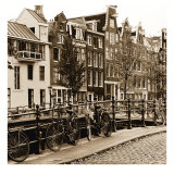 Autumn in Amsterdam I Print by Jeff Maihara