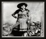 Annie Oakley Framed Photographic Print