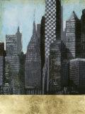 Embellished Urban Landscape I Posters