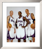 Bibby, Jackson and Christie - '03/'04 Group ©Photofile Framed Photographic Print