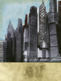 Embellished Urban Landscape II Prints