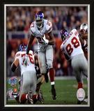 Brandon Jacobs - Super Bowl XLII Framed Photographic Print