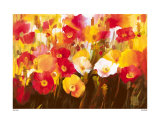 Rich Petals Prints by Ann Neate