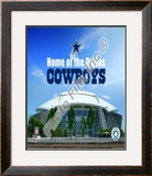 Cowboys Stadium Framed Photographic Print