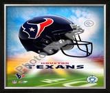 2009 Houston Texans  Logo Framed Photographic Print