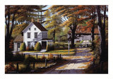 Rustling Leaves Kunstdrucke von Bill Saunders