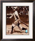 Honus Wagner - Batting Framed Photographic Print