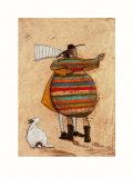 Dancing Cheek to Cheeky Kunstdruck von Sam Toft