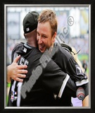 Mark Buehrle '09 Perfect Game (w/ D. Wise) Framed Photographic Print