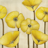 Bouquet Jaune Print by  Maja